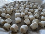 Gnocchi, made from white beans
