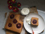 Grapefruit and Blood Orange Olive Oil Cake