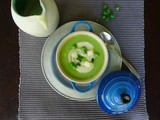 Pea Soup with Potato Thyme Cream – The Theory of Everything
