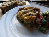 Swiss Chard and Ricotta 'Snake Pie'