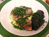 Pork Chops with Gremolata and Polenta