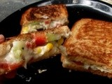 Cheesy Vegetable Sandwich