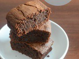 3 ingredient flourless Nutella brownies recipe