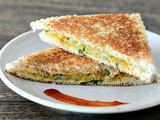 Aloo Masala Sandwich Recipe - Easy Indian Tea Time Snacks
