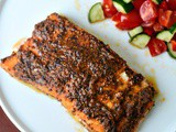 Baked salmon recipe, Indian-style baked salmon
