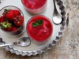 Eggless Strawberry Mousse - Easy Valentines Day Recipes