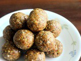 Oats and Dates Ladoo Recipe, Healthy Diwali Sweets