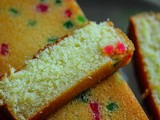 Tutti Frutti Buttermilk Cake - One-Bowl Buttermilk Christmas Cake Recipe