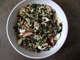 Apple, Fennel + Pomegranate Quinoa Salad