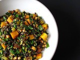 Moroccan Butternut Squash + Wild Rice with Garbanzos