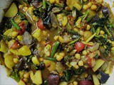 Moroccan Potato + Summer Vegetable Tagine: Performance Meal Planning with Potatoes