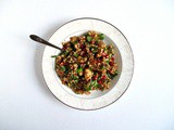 Pomegranate + Hazelnut Moroccan Grain Salad