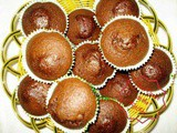 Chocolate Muffin with Palm Sugar and Cinnamon