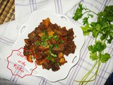 Fried Beef Liver Spicy with Potato Crispy
