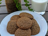 Oats Chocolate Cookies