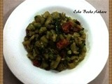 Laau er Ghanto | Lau ki Sabji | Bottle Gourd Curry (Dry)