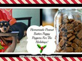 Homemade Peanut Butter Puppy Poppers For The Holiday's
