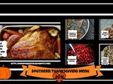 Southern Thanksgiving Menu 2016