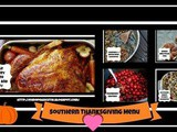 Southern Thanksgiving Menu 2018