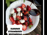 Summer Strawberry Mozzarella Salad