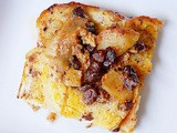Apple raisin cinnamon French toast casserole