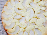 Asian pear clafoutis