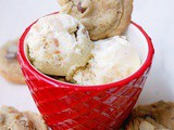 Baked/Unbaked ice cream (chocolate chip cookie dough with chocolate chip cookies)