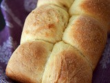 Buttery French brioche loaf bread