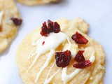Cranberry bliss bar cookies