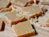 Easy peanut butter fudge and a giveaway