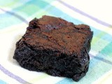 Fudgy 4 egg white brownies