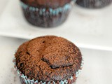 Fudgy chocolate beet cupcakes (Vegan)