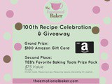 {Giveaway} $100 Amazon gift card and baking tools pack