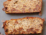 Hawaiian chocolate chip banana bread