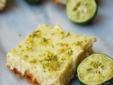 Key lime cheesecake bars