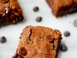 Malted chocolate chip bars
