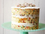 Momofuku Milk Bar confetti layered cake