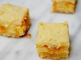 Peach pie bars and a giveaway