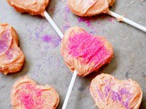 Sugar cookie dough lollipops