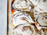 Sweet lemon sticky rolls