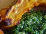 Parsley Scallion Pesto for Fall, Winter and Throughout the Year