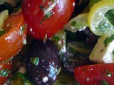 Tomato Feta Olive Preserved Lemon Salad Offers a Taste of Morocco