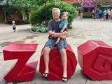Our  Zooper  Day at the Fort Wayne Children's Zoo