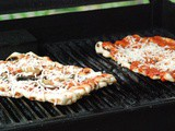 Grilled Pizza with Mixed Vegetables