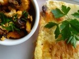 Frittata and Fried Moroccan Cauliflower