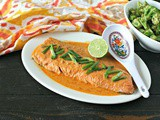5 Ingredient Red Curry Salmon