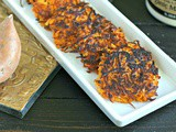 Candied Sweet Potato Latkes