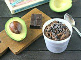 Chocolate Avocado Pudding plus win a case of organic avocados