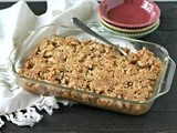Grain Free Apple and Cranberry Crisp + a Trip to Lopez Island