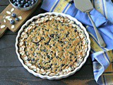 Grain Free Blueberry Almond Clafoutis